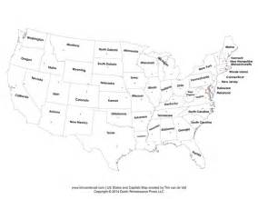 printable states and capitals map united states map pdf