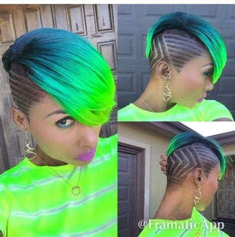 edgy hairstyles with weave 2017 edgy haircut ideas for black women 7 black hair