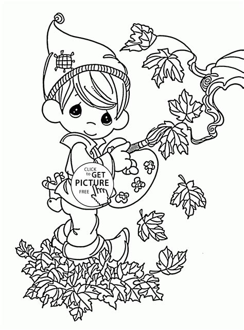fall coloring pages for preschoolers fall painter coloring pages for preschoolers
