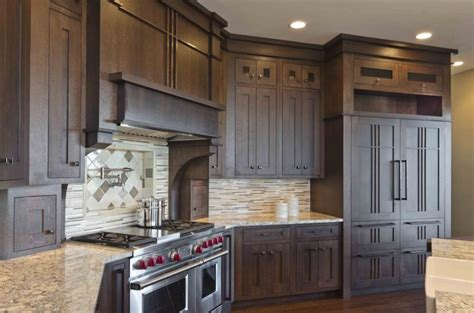 prairie style kitchen cabinets prairie style kitchen photos