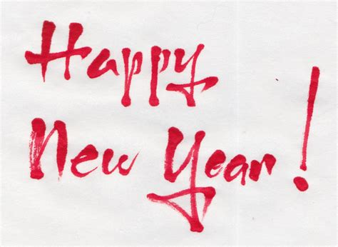 writing for happy new year margaret shepherd calligraphy happy new year