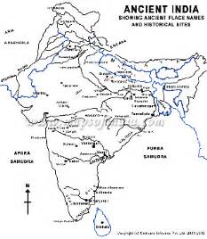 Map Of Ancient India by Rajib S Information