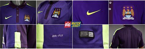 Baju Bola Manchester City Jersey Manchester City 3rd Third 2014 2015 Big Match