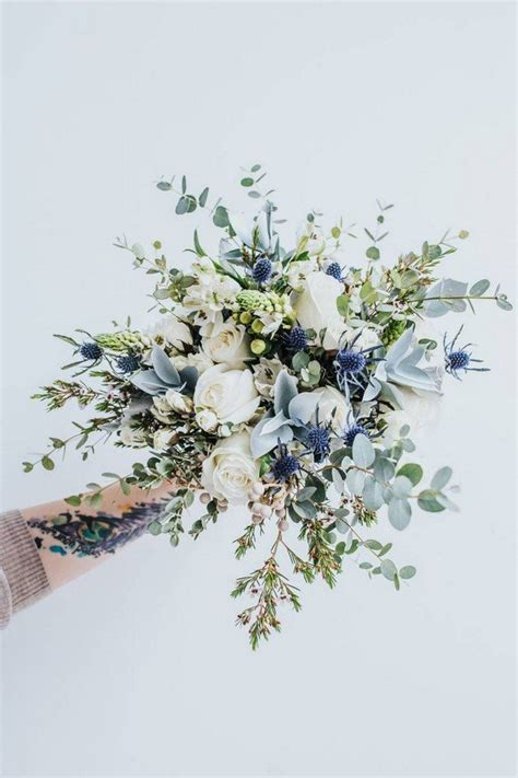 Wedding Flower Ideas Blue by Top 10 White And Green Wedding Bouquet Ideas You Ll