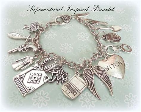 gifts for supernatural fans supernatural charm bracelet supernatural gift ideas
