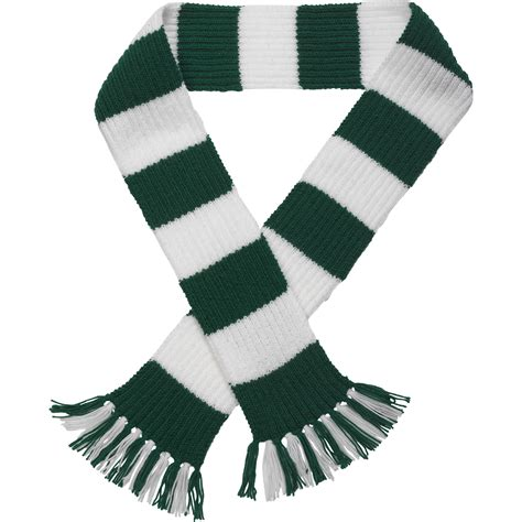 Striped Scarf premier league team striped football scarf knitting