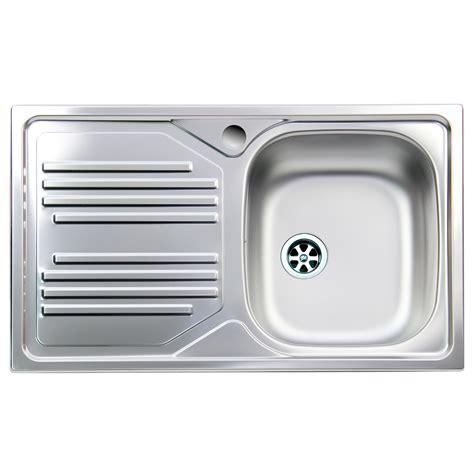 rubinetteria lavello lavello cucina apell con vasca singola e gocciolatoio a