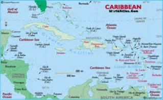 map of caribbean and south america ga 6th grade social studies d1 geography