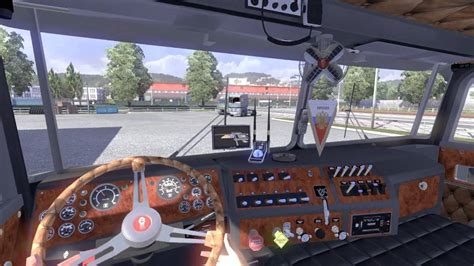 Kenworth K100 Interior Kenworth K 100 Animation Interior Ets2 Mod Download