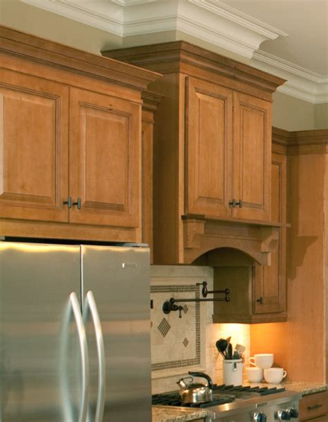 kitchen cabinet hood wall wood hood specialty kitchen cabinets cliqstudios