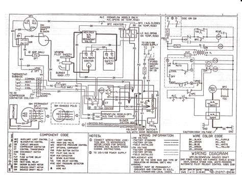 intertherm furnace thermostat wiring diagram intertherm