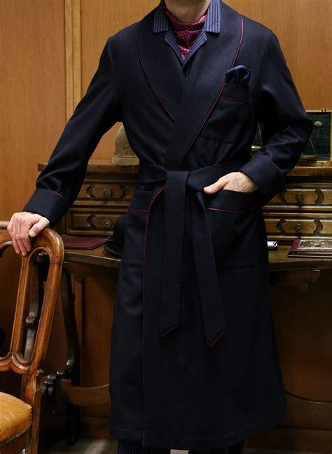 vestaglia da uomo vestaglia classica da uomo in 100 con profilo e