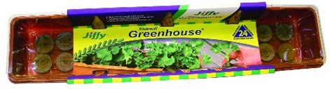 Jiffy Windowsill Greenhouse by Jiffy 5042 Windowsill Greenhouse 24 Plant Starter Kit With