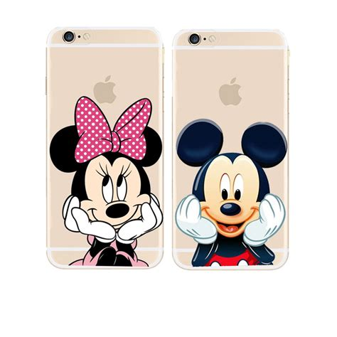 Iphone 5 5s Minnie Mouse Diskon Murah 1 aliexpress buy new mickey mouse mickey and minnie cover for apple