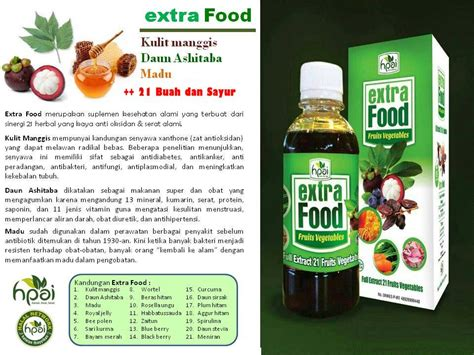 Food Hpai Herbal Nutrisi Penambah Nafsu Makan food tokobumiayu