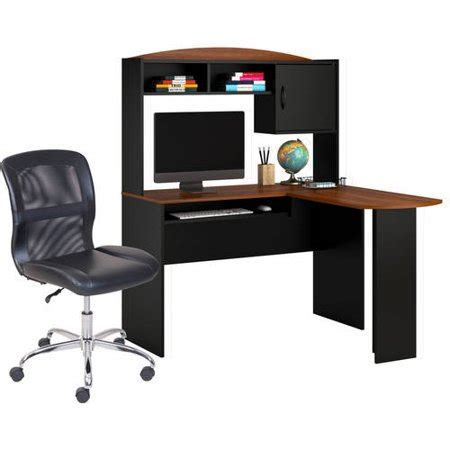 Mainstays L Shaped Desk With Hutch Finishes by Mainstays L Shaped Desk With Hutch Finishes And