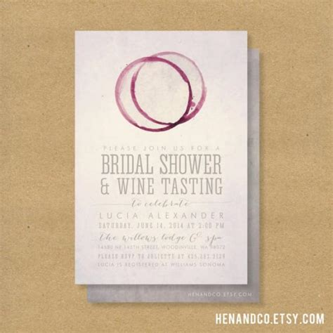 bridal shower invitations wine themed wine tasting bridal shower invitation printable winery or wine theme 2224799 weddbook