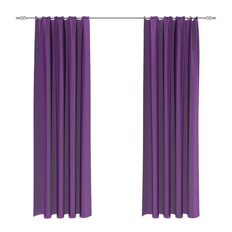 Violet Curtains 3d Model From Cgaxiscgaxis 3d Models