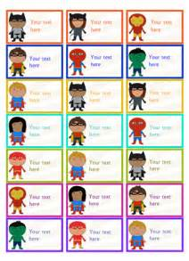 editable superhero stickers free early years amp primary