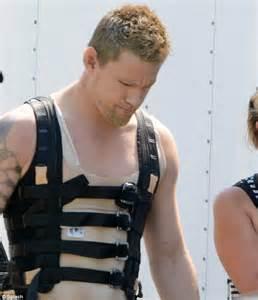 Channing Tatum Turns Into Interplanetary Assassin On Set Channing Tatum Tattoos Real