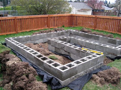 Cinder Block Raised Bed by Whimsical Raised Beds Make Them Now Grow Resist