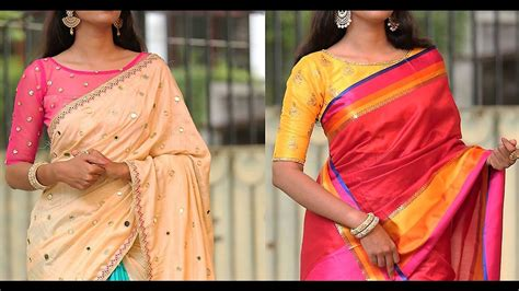 boat neck blouse pictures latest boat neck blouse design blouse design youtube