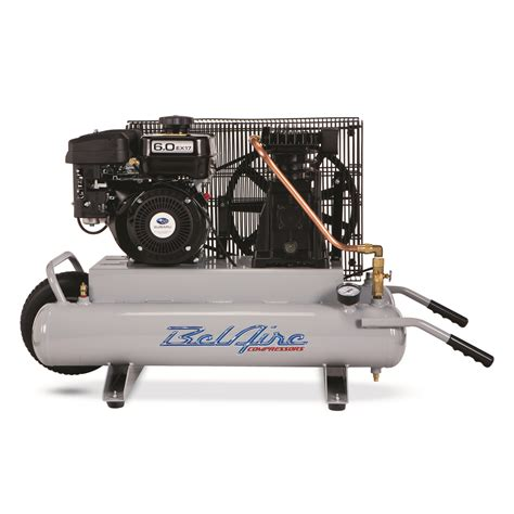 belaire tr6030 6 hp 2x4 gallon portable gas powered contractor air compressor ebay