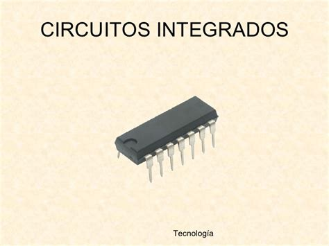 circuito integral de diagnostico que es un circuito integrado