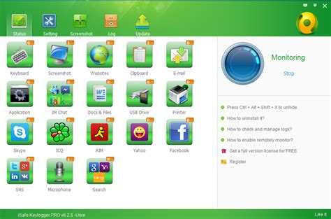 isafe keylogger full version free download screenshots of isafe remote install keylogger best