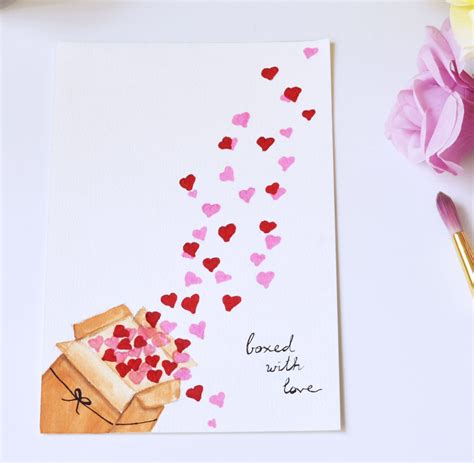 7 adorable diy for valentine s day eatwell101 7 easy fun cute diy valentine s day cards
