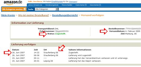 amazon id amazon sendungs id fehler jens ihnow s blog