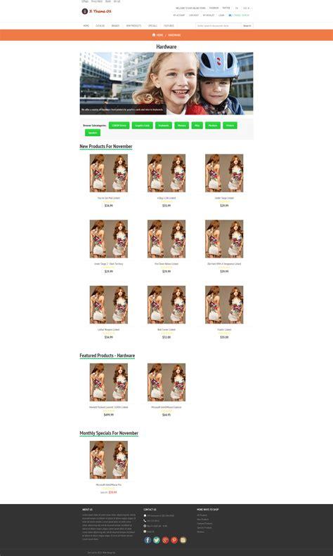 free responsive zen cart templates gadget responsive zen cart template free zen cart template
