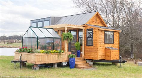 mobile greenhouse the tiny home that comes with its own mobile greenhouse