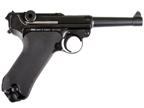 luger pistol airsoft gun buy cheap kwc luger p08 full metal 6mm airsoft gun