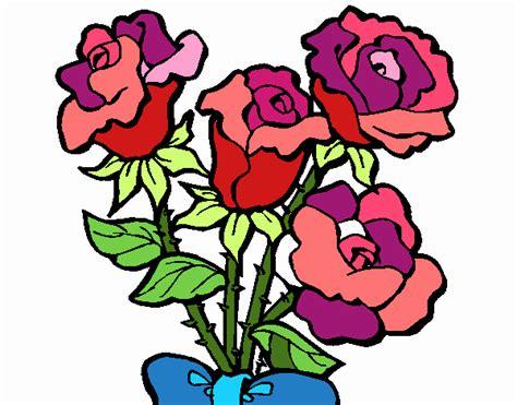 ramos de rosas para san valentin dibujos de corazones para colorear ramo de corazon y rosas