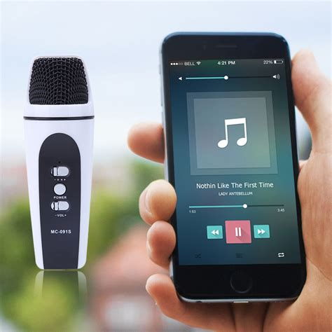 Mini Microphone For Android Ios Untuk Karaoke mini audio condenser microphone mic digital mobile studio sound recording microphone for ios