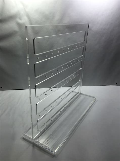 Acrylic Countertop Displays by Clear Acrylic Plexiglass Earring Ring Stand Countertop