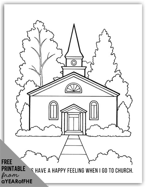 a year of fhe year 01 lesson 43 going to church