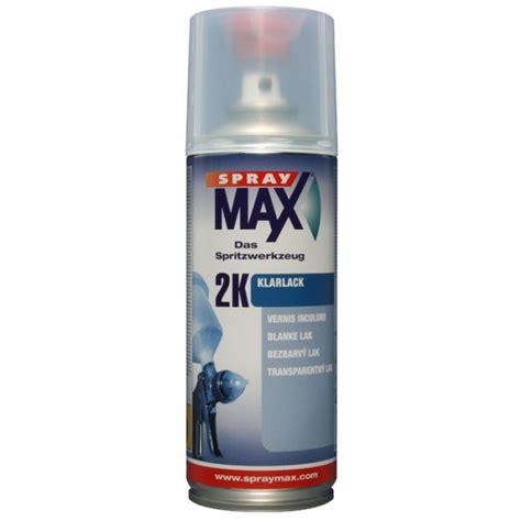 Lackieren Klarlack Polieren by 2k Klarlack Spraydose Spraymax Bei 123lack De