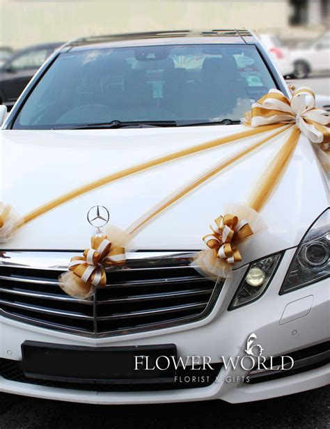 Bridal Car Deco   Ribbons for Bridal Car   Decoration for