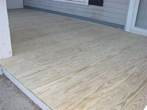 Windfang Flur by Treated Plywood Porch Floor