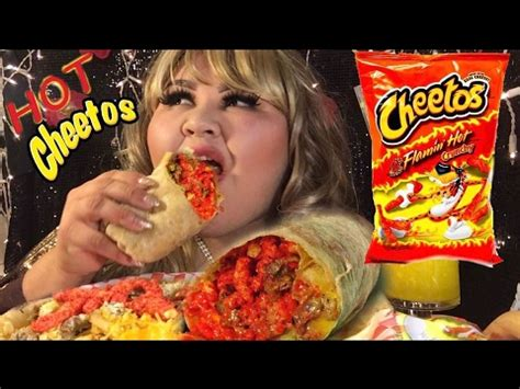 eat show cheetos burrito mukbang my birthday wendy s show