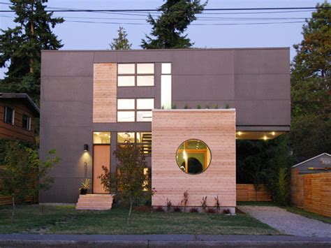 design house greenwood in compact and visually uncluttered home in seattle