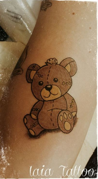small teddy bear tattoos 12 lovable teddy tattoos lovable teddy tattoos