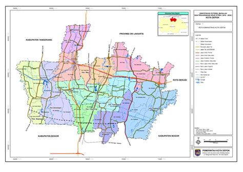 Clusteran Kawasan Kelapa Dua Depok kota depok infonusa