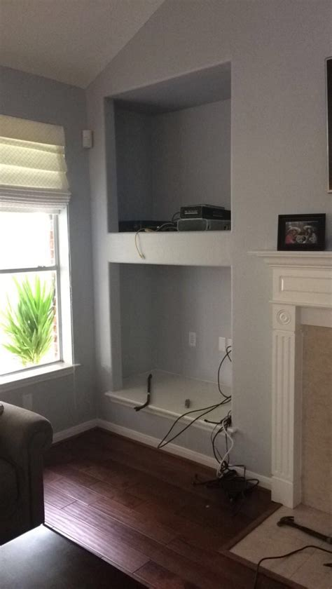 Ana White   Converted TV wall niche   DIY Projects