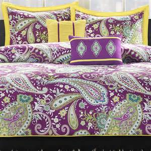 kayla paisley duvet cover set decor by color
