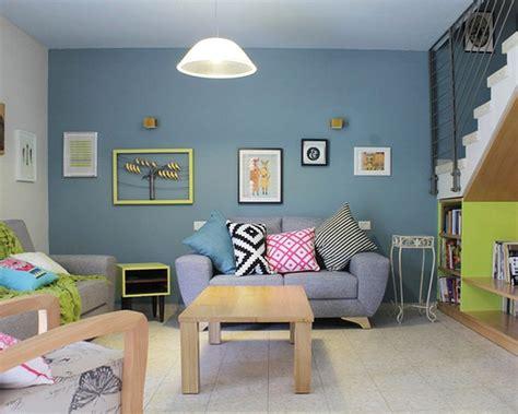 warna cat rumah  ruang kecil dekorhom