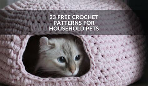 Free Crochet Sweater Patterns For Cats