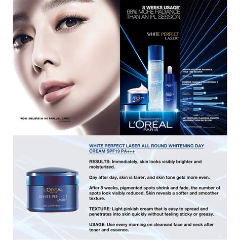 Serum Loreal White Clinical loreal white laser all whitening day